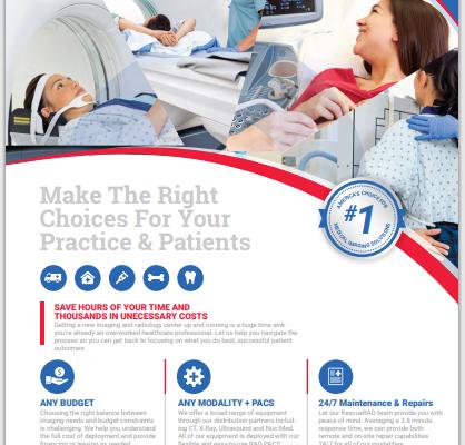 Medical Imaging Equipment & Radiology Device ROI Brochure